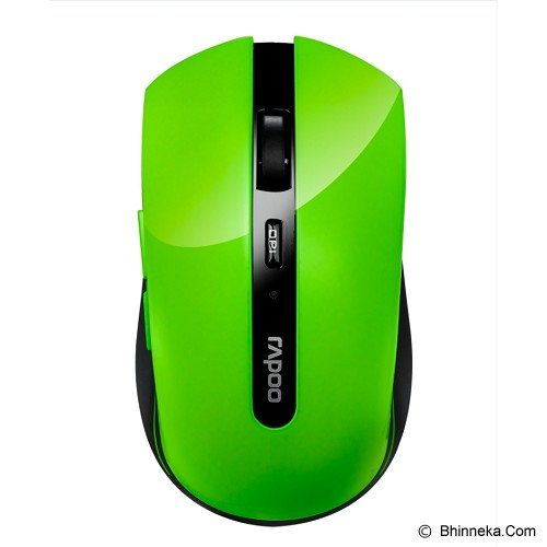 RAPOO Wireless Optical Mouse [7200P] - Green - Mouse Basic